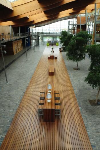 네덜란드의 대표적인 온실기자재 기업인 프리바의 내부 전경. - 김택원 제공
